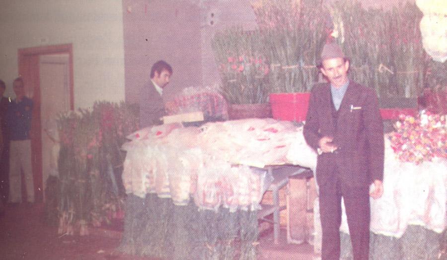 Armando D'Ascenzio a Roma in Via Trionfale
