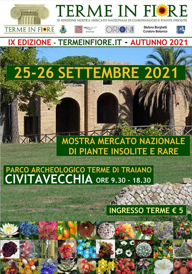 Sabato 25 e domenica 26 settembre torna Terme in Fiore