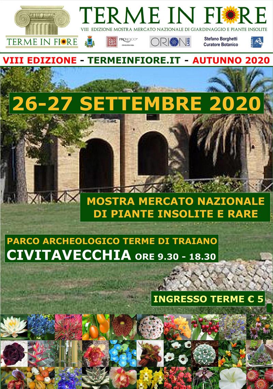 Sabato 26 e domenica 27 settembre la VIII edizione al Parco Archeologico Terme di Traiano